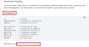 Google Measurement Protocl